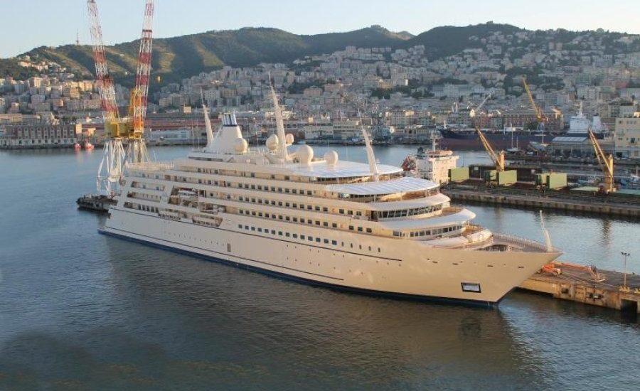 Mega yacht Saffron – Regolazione di Cabina
