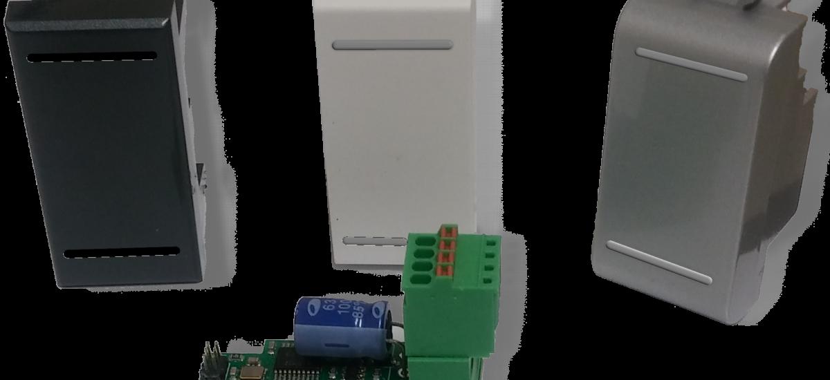 Smart sensor temperatura e umidità modbus – SND-mTH